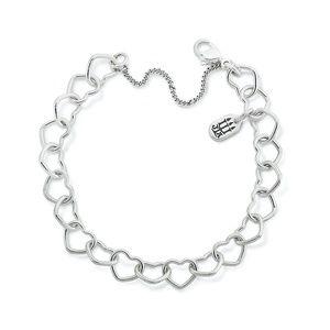 Connected Hearts Charm Bracelet - Medium